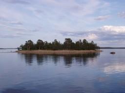 Island in Lake Inari